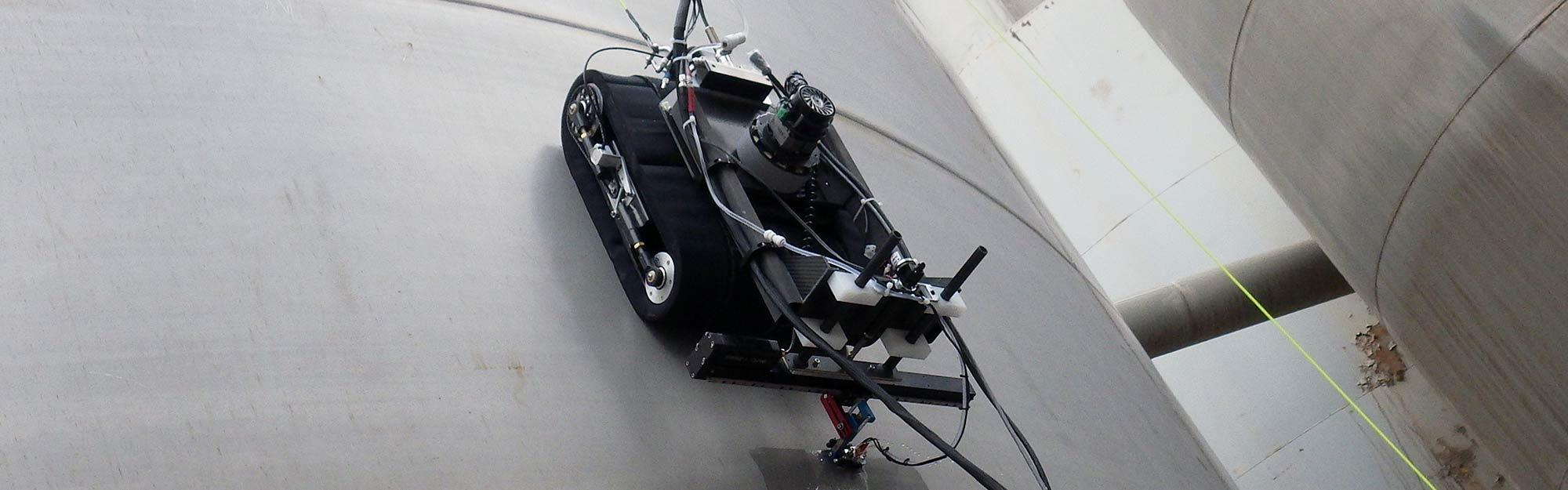 Icm Rover Advanced Vacuum Adhesion Inspection Crawler Diagram